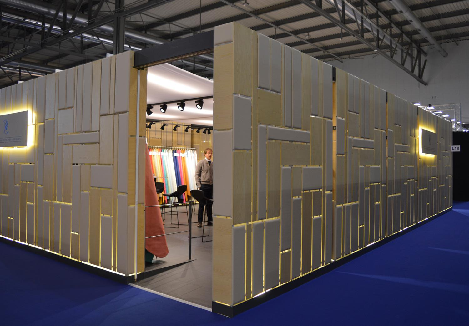 Exhibition hall built by Millepelli