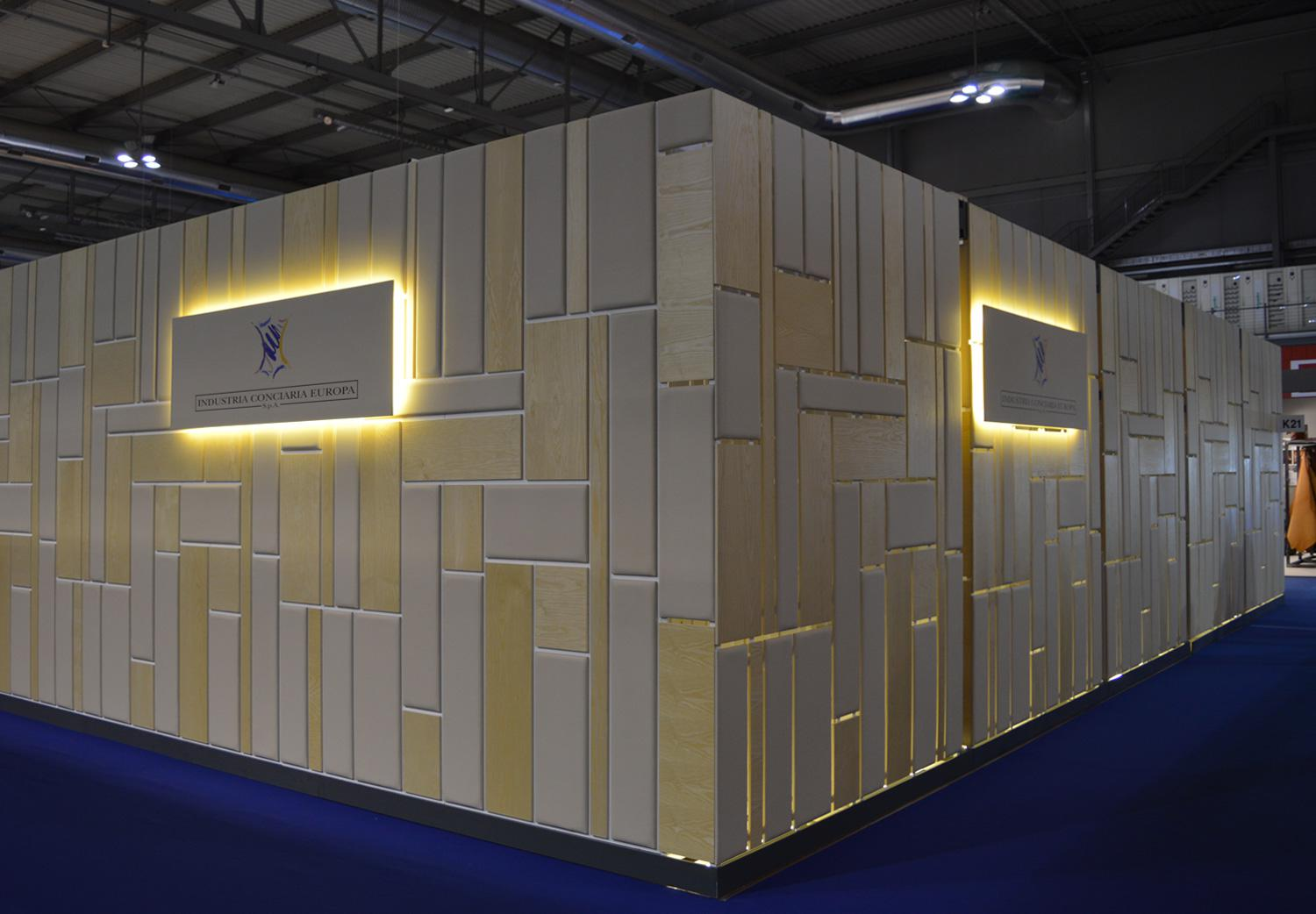 High quality leather Millepelli and Milan Exhibition Hall