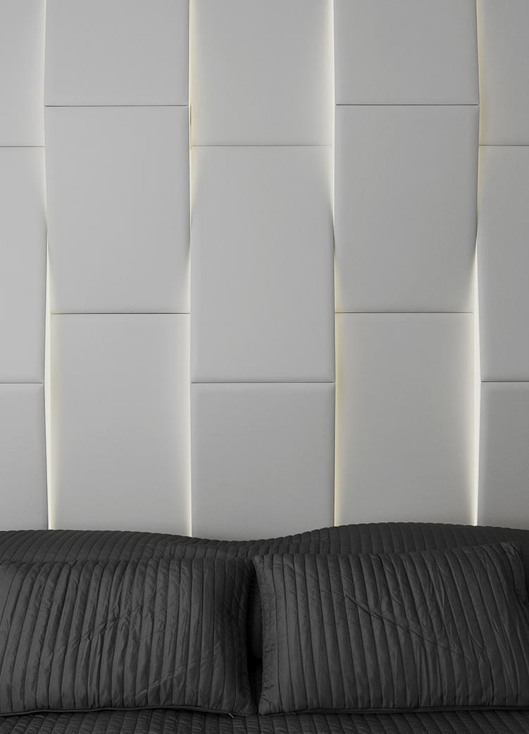 Modular panels with integrated lighting Led, Millepelli